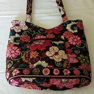 Vera Bradley Mod Floral Tote/Shoulder Bag